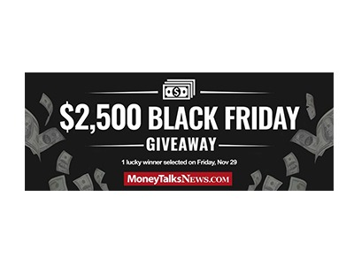 Money Talks News Black Friday Cash Giveaway