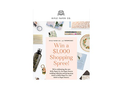 Rifle Paper Shopping Spree Sweepstakes