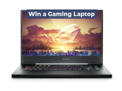 Win a Gaming Laptop