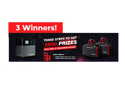 Win a SUAOKI Portable Power Station