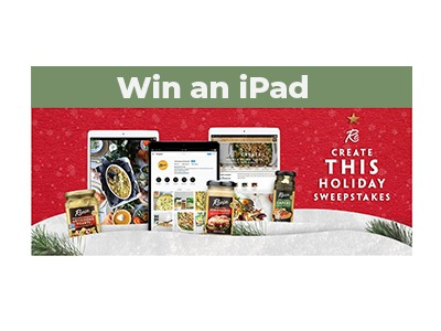 Reese Foods iPad Sweepstakes