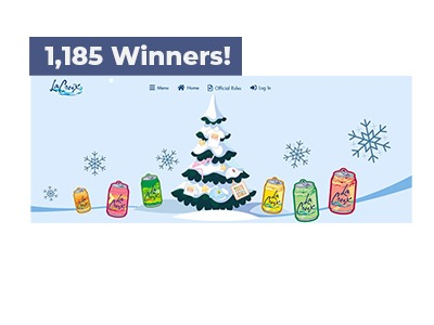 LaCroix Holiday Shop Sweepstakes