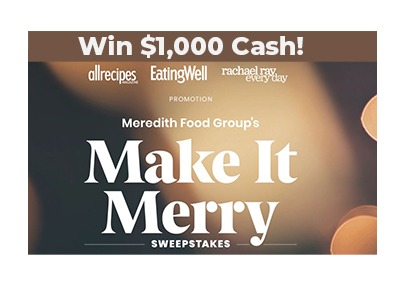 Make it Merry Cash Sweepstakes