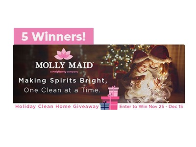 Molly Maid Holiday Clean Home Giveaway