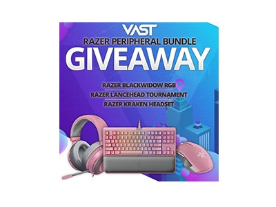 VAST Razer Peripheral Bundle Giveaway