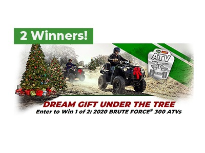 Win a 2020 Brute Force ATV