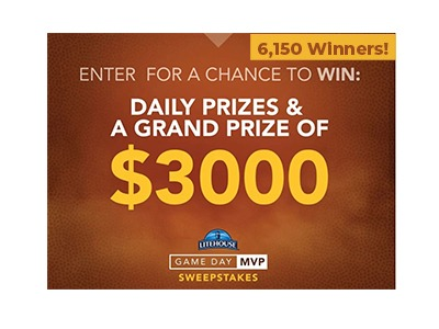 Litehouse Foods Game Day MVP Sweepstakes