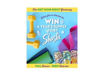 Shasta Diet Done Right Giveaway