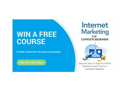 Win an Internet Marketing Course For Complete Beginners