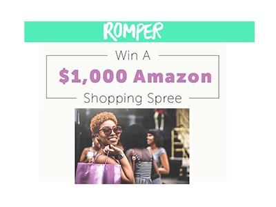 Amazon Shopping Spree Sweepstakes