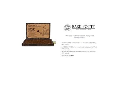 Bark Potty Sweepstakes