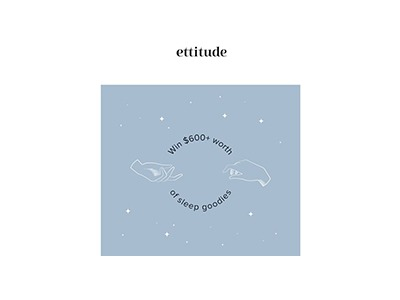 Ettitude Sound Asleep Giveaway
