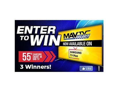 Win a Samsung 4k UHD TV