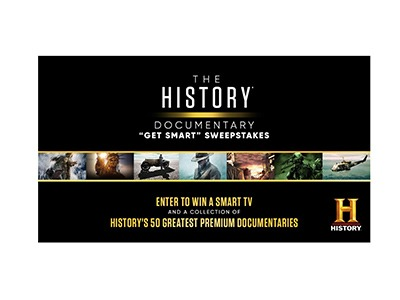 History Channel Get Smart Sweepstakes
