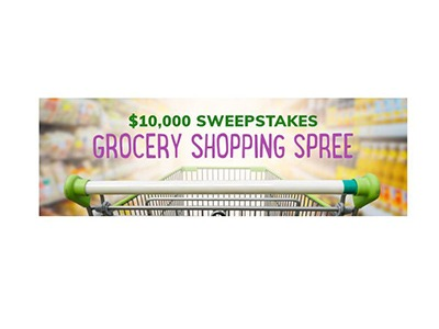 $10,000 Grocery Shopping Spree Sweepstakes
