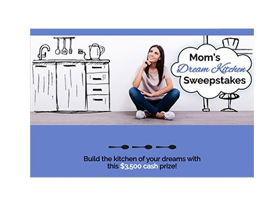 Mom's Dream Kitchen Sweepstakes