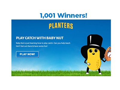 Planter's Baby Nut's First Instant Win Game Sweepstakes