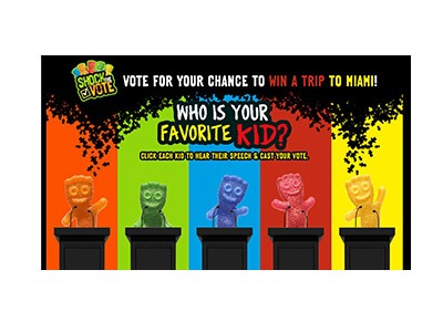 Sour Patch Kids Shock the Vote Text Sweepstakes