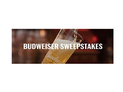 Budweiser Summer Kick-Off Text 2 Win Sweepstakes