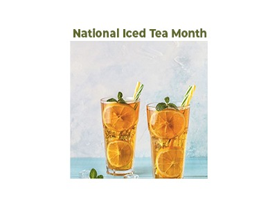 National Iced Tea Month Instagram Contest