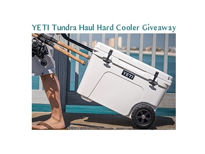 YETI Tundra Haul Hard Cooler Giveaway