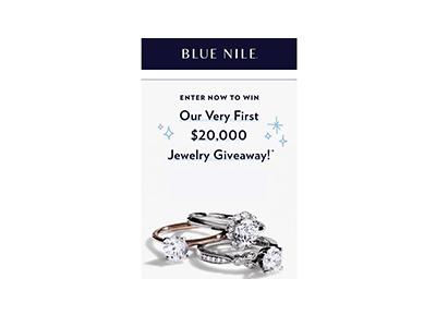 Blue Nile 20K Jewelry Giveaway