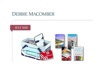 Debbie Macomber July 2020 Giveaway