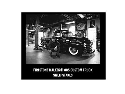 Firestone Walker 805 Custom Truck Sweepstakes
