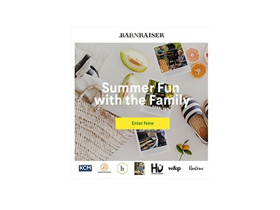 Summer Fun with Family Sweepstakes