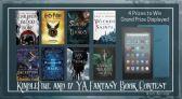 KindleFire and 17 YA Fantasy Books Contest
