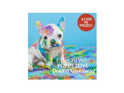 Puppy Love Dream Giveaway