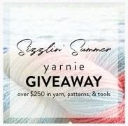 Sizzlin Summer Yarnie Giveaway