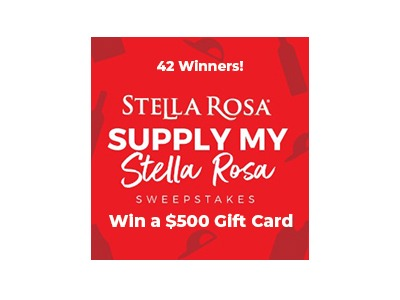 Supply My Stella Rose Sweepstakes