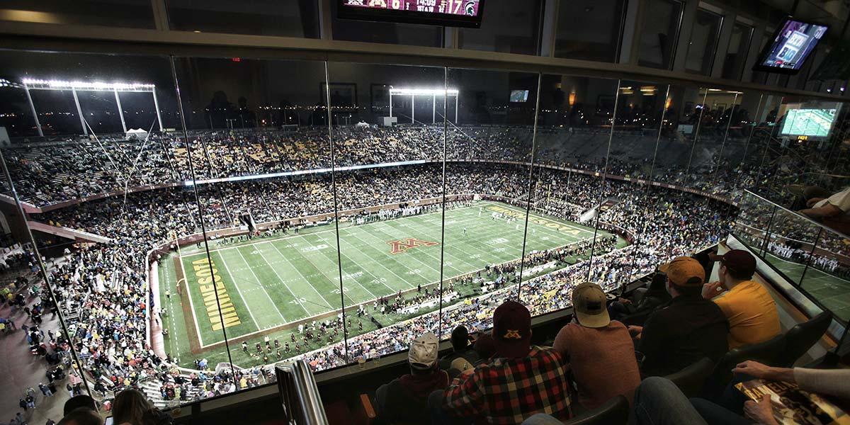 TCF Bank Stadium  Golden Gopher Fund