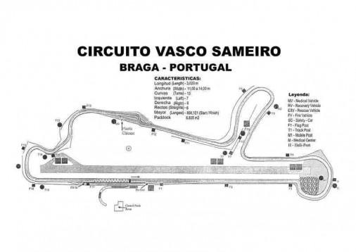 Drive a Ferrari 360 Modena F1 in Circuit of Braga 4 laps