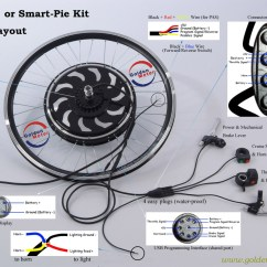 Gio E Bike Wiring Diagram How To Wire A House For Electricity Conversion Kits Hub Motor Magic Pie Edge Lifepo4