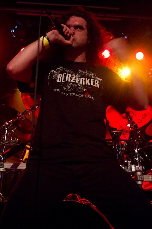 Condemned supporting Cannibal Corpse at The Academy Dublin (3)