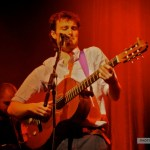 Eric McGrath performs as support for Bic Runga at The Olympia, Dublin.