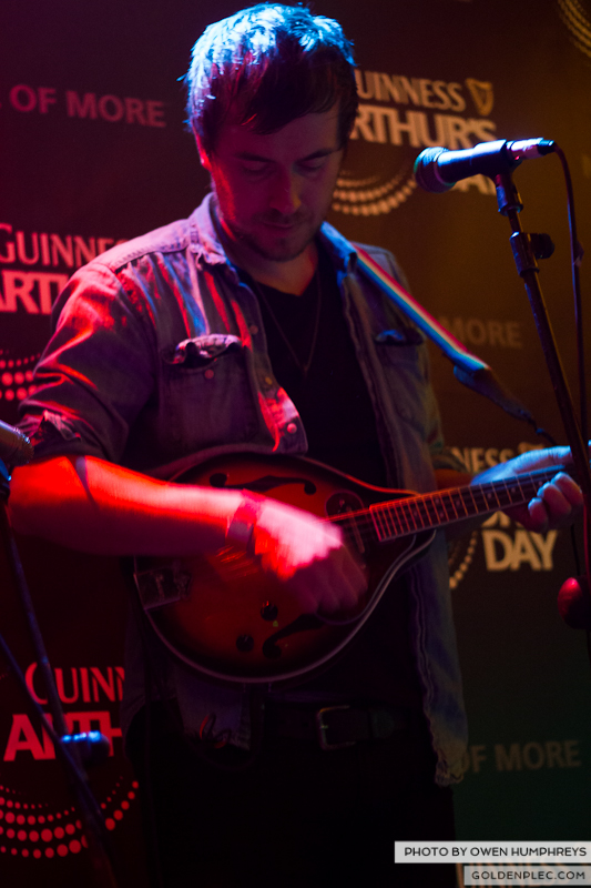 Delorentos @ Arthurs Day in The Mercantile by Owen Humphreys-7