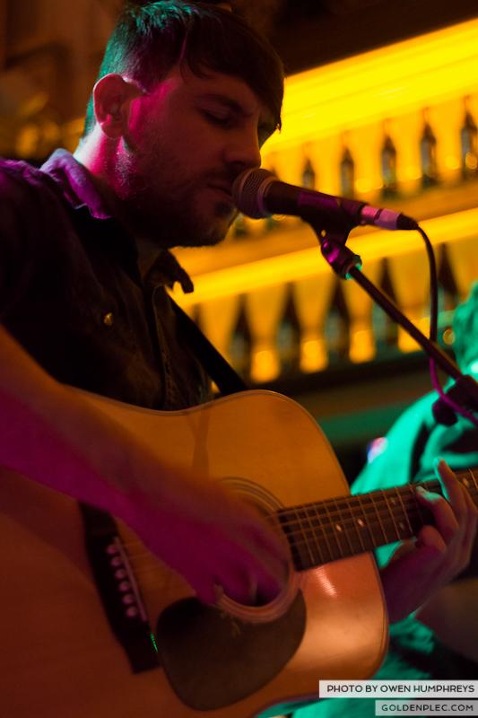 Delorentos @ Arthurs Day in The Mercantile by Owen Humphreys-8