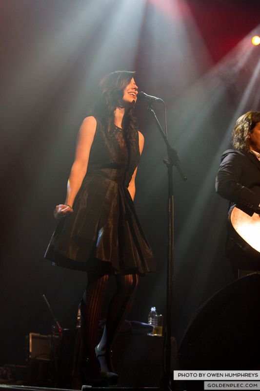 The Civil Wars @ The Olympia  by Owen Humphreys-11