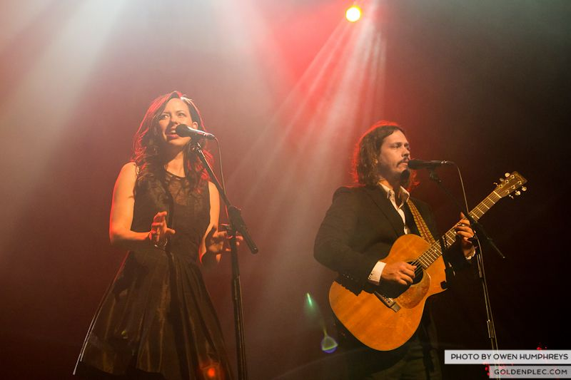 The Civil Wars @ The Olympia  by Owen Humphreys-19