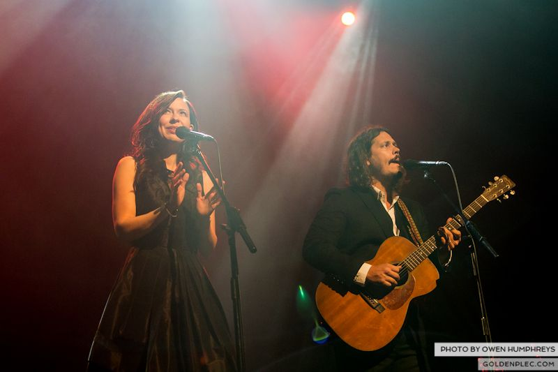 The Civil Wars @ The Olympia  by Owen Humphreys-3