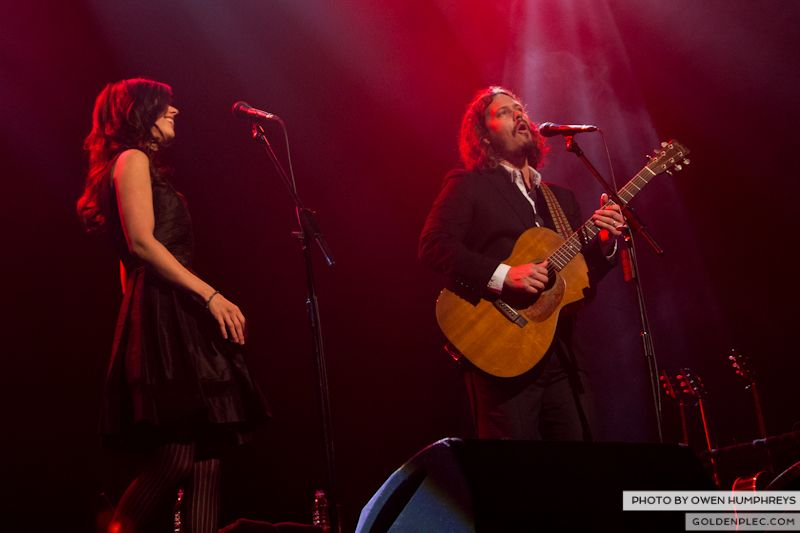 The Civil Wars @ The Olympia  by Owen Humphreys-6