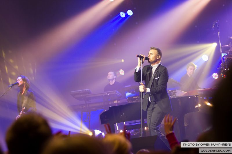 Gary Barlow @ The Olympia on 7-1-13 (1)