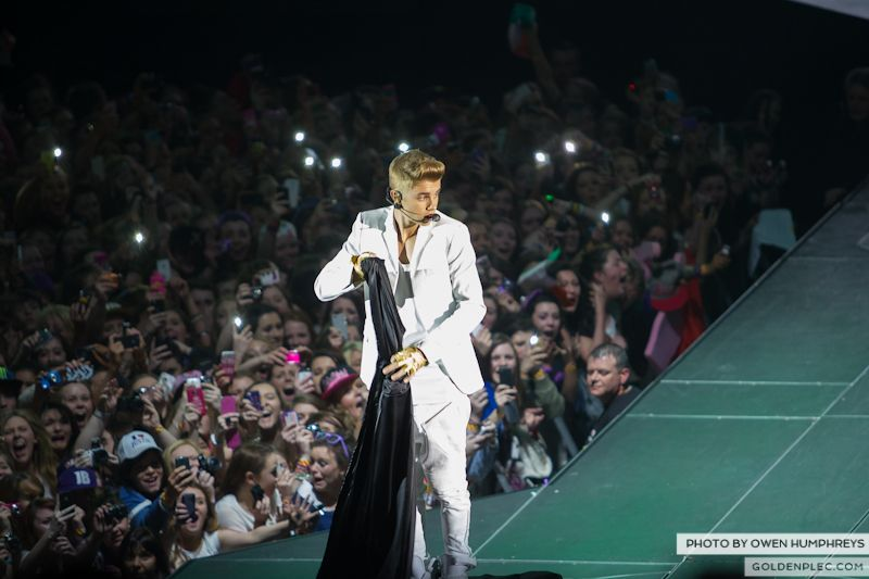 Justin Bieber @ The o2 on 17-2-13 (1)