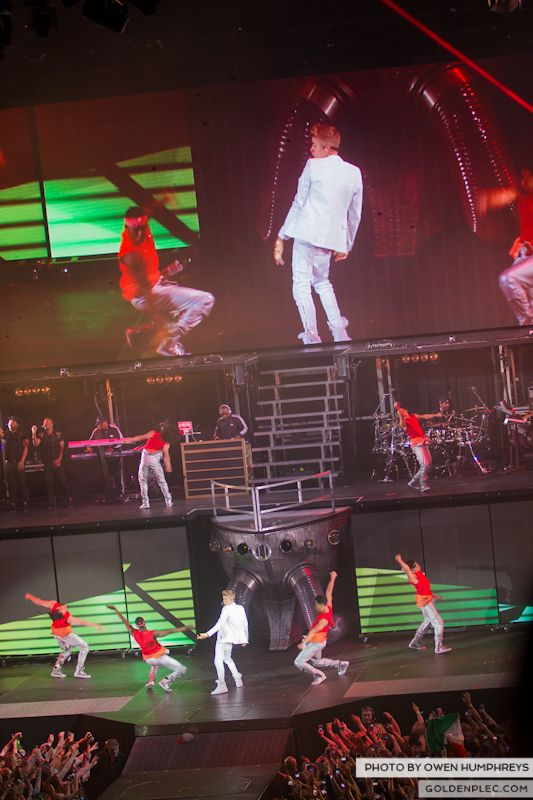 Justin Bieber @ The o2 on 17-2-13 (2)