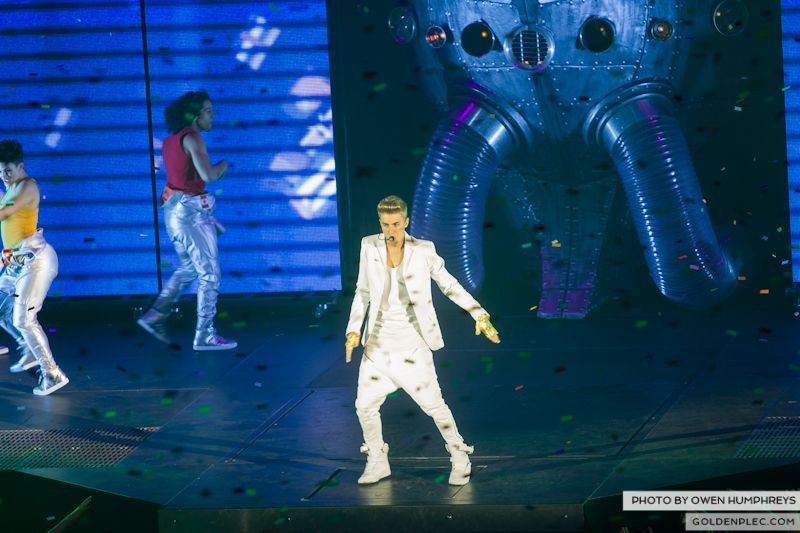 Justin Bieber @ The o2 on 17-2-13 (6)