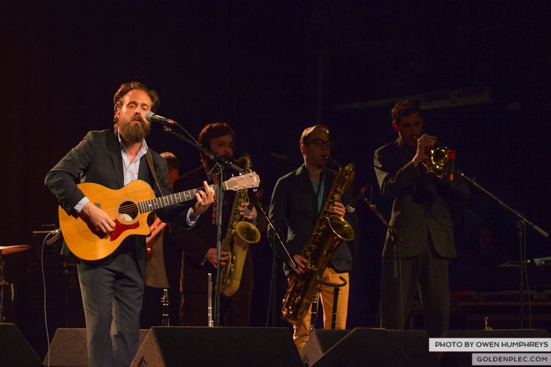 Iron and Wine @ The Olympia on 29-5-13 (6 of 12)