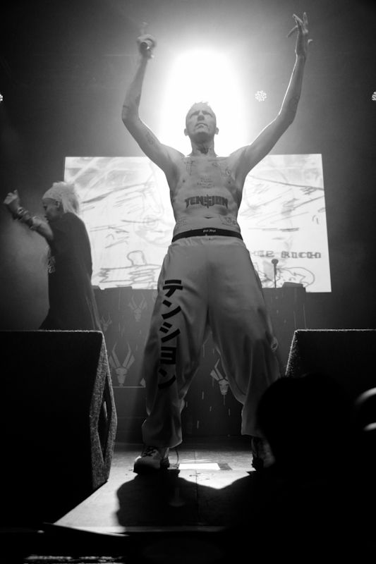 Die Antwoord in the Olympia on 20_06_2013 by Yan Bourke_16
